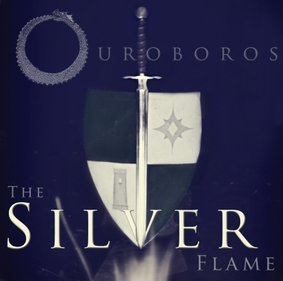 Ouroboros - The Silver Flame cover